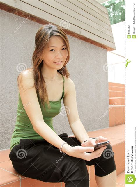 asian youth culture stock  image