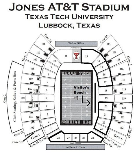 where is section 8 located the art of texas tech s student section viva the matadors