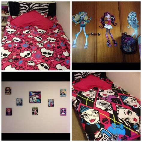 monster high themed bedroom 42 best images about audrey bedroom on pinterest