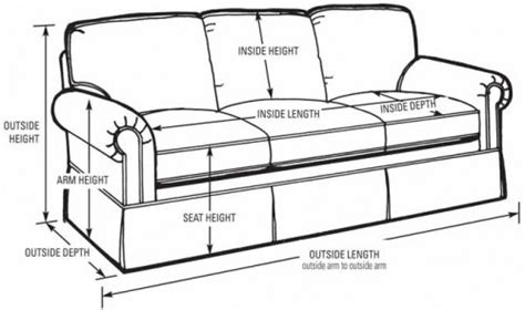 how long is a standard couch sofa design ideas long average sofa length in list of