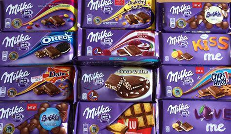 milka chocolate products