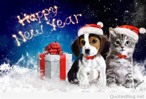 new year animals and what they happy new year photos with animals 2016