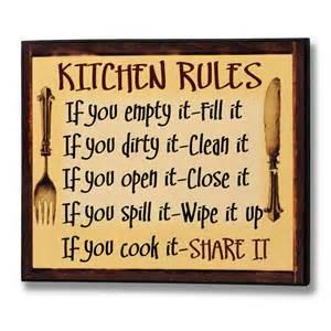 Kitchen Plaques kitchen plaque