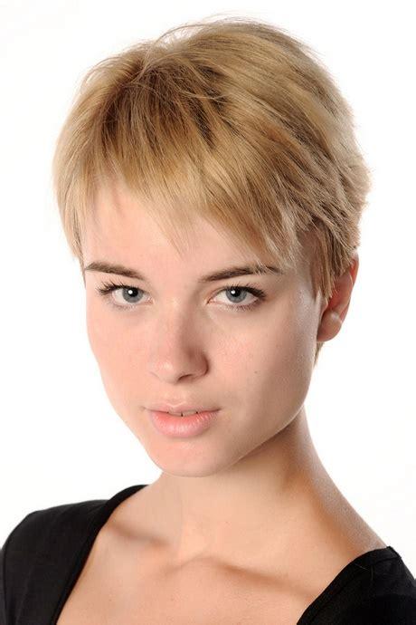 kurzhaarfrisuren feines haar blond