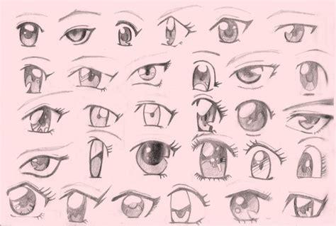 Imagenes Ojos Anime | dibujos de ojos de anime a lapiz imagui