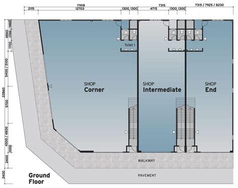 Shop Homes Floor Plans adda avenue commercial shop floor plan property johor