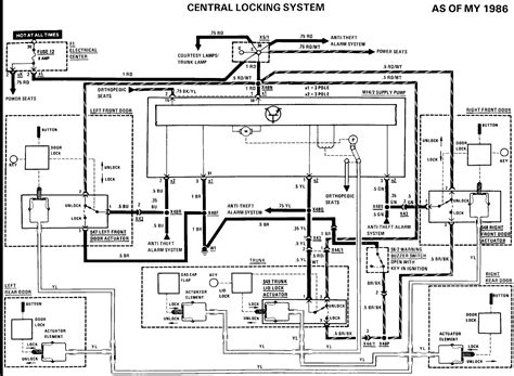 ac wiring diagram 230e 1986 circuit and ac wirning diagrams