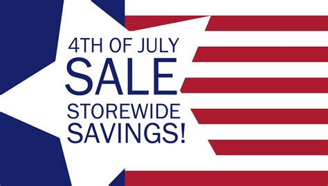 what are the best july 4th sales this year