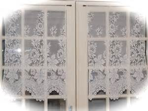 Lace Cafe Curtains Kitchen Ivory Cafe Curtains Lace Kitchen Curtains Lace
