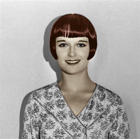 hair color in 1920 louise brooks hairstyles bakuland women man fashion blog