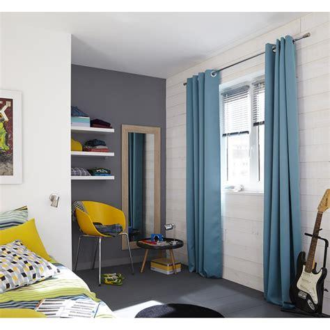 Incroyable Chambre Taupe Et Gris #7: rideau-occultant-blackout-inspire-bleu-140-x-260-cm.jpg