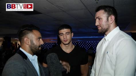 hughie amp tommy fury talk about their immediate plans and