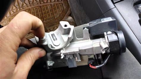 replace ignition lock  reprogram keys