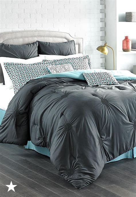 charcoal grey bedding amazing interior the elegant in addition to beautiful