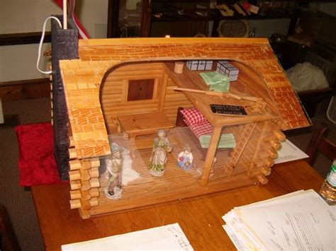 diy log cabin kits miniature log cabin dollhouses 26 best images about log cabin doll houses and decor on
