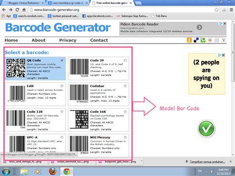 membuat barcode sendiri di excel chaca raihamazca cara membuat barcode sendiri
