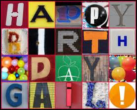 happy birthday gail created with fd s flickr toys