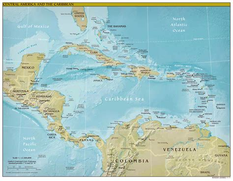interactive map of central america and caribbean maps of bahamas map library maps of the world