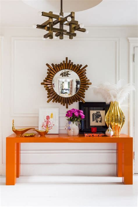 Colorful Entryway Table 100 Modern Console Tables For Your Home Free E Book