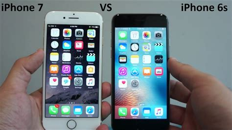 apple iphone 7 vs iphone 6s comparison
