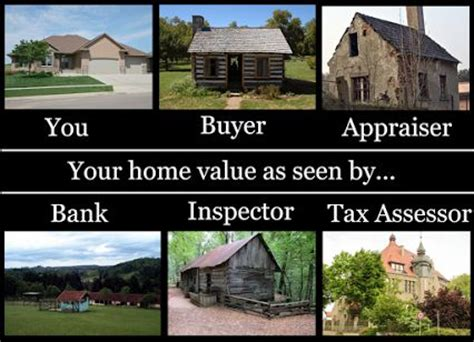 assessed value vs appraised value real estate home