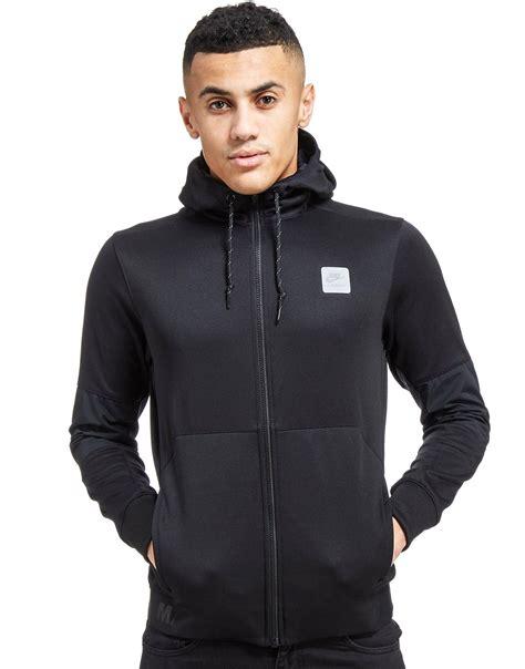 Sweater Jaket Air Hoodie Zipper lyst nike air max zip hoody in black for
