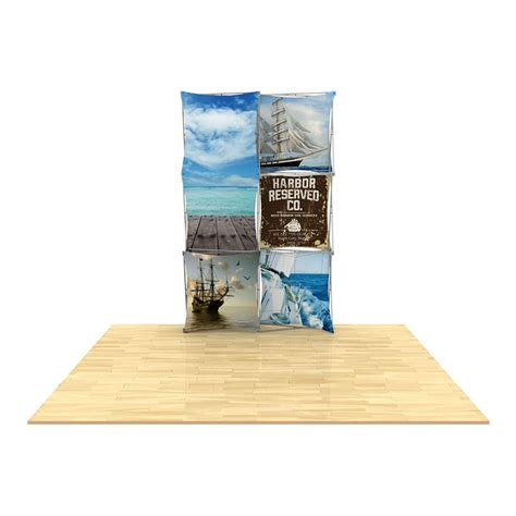 floor display 3d 2x3 3d snap floor display layout 2 impact displays