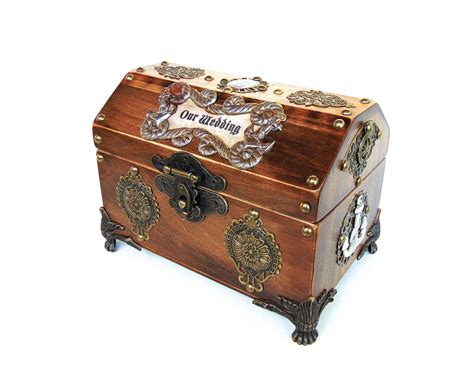Wedding Card Chest by Wedding Cards Box Pirate Treasure Chest Nautical Wedding