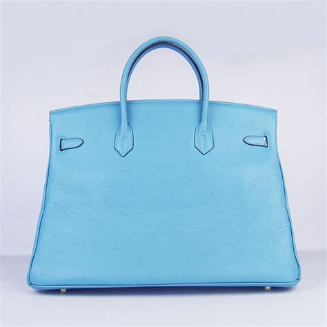 hermes birkin 40cm togo leather handbags 6099 light blue fashion hermes birkin 40cm togo bag light blue 6099 gold