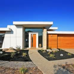 modern flat roof home designs builders geelong architects