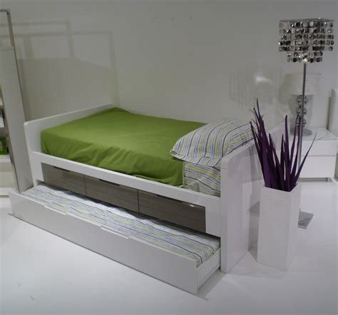 Toddler Bed With Trundle by Italian Design Bed With Storage And Trundle