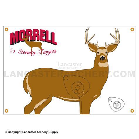 printable deer shooting targets morrell animal target faces