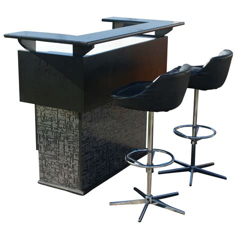 modern furniture bar metro retro furniture mid century modern ebonized mini