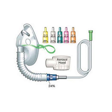 Masker Venturi venturi mask kit incl oxygen mask w 7 foot tubing bound