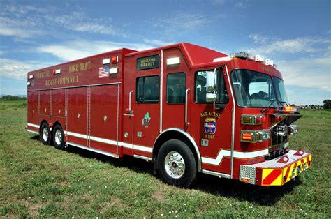 rescue nyc syracuse ny fd heavy rescue svi trucks