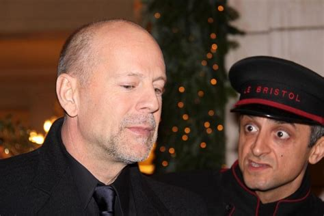 Bruce Willis Seen Out With by Bruce Willis In Bruce Willis And Heming Seen Outside
