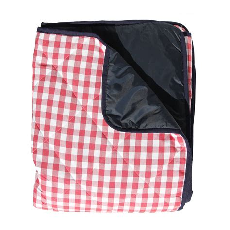Padded Picnic Rug by Gingham Padded Picnic Rug By Just A
