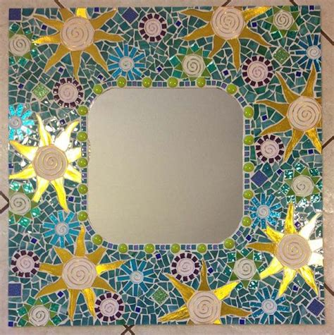 Handmade Mosaic - 17 best images about mosaic square frames mirrors on