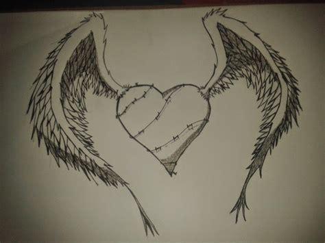 imagenes de amor para dibujar con lapicero dibujo de corazon de amor a lapiz archivos dibujos de