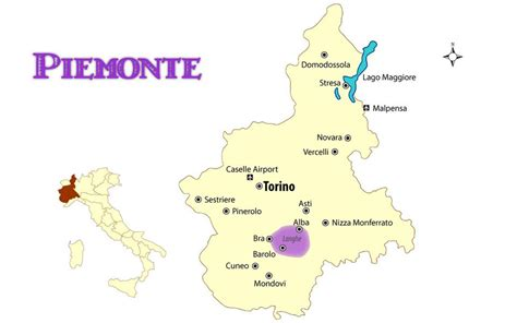 piemonte torino piemonte italy map with cities and travel guide