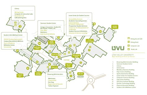 uvu map getting started getting started at uvu home