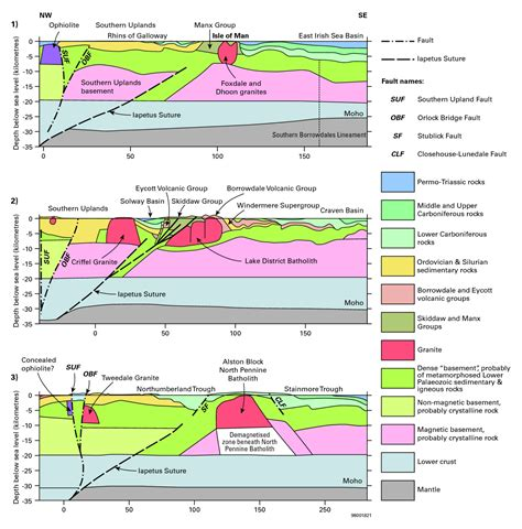 section 5 uk northern england introduction to geology earthwise