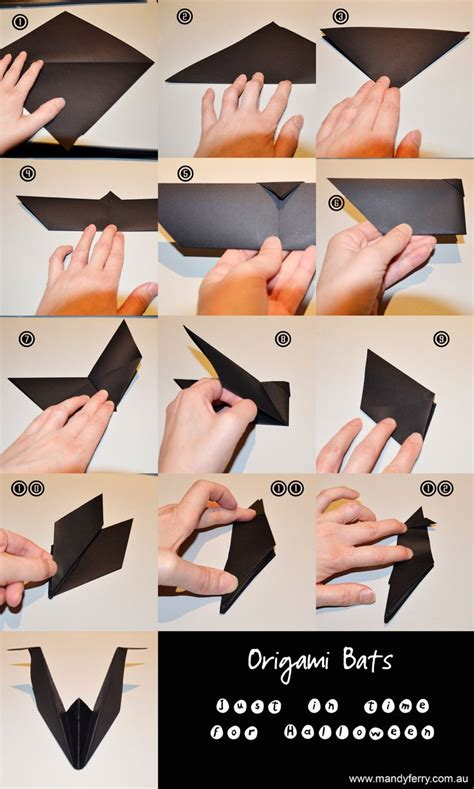 How To Make A Paper Bat - 20 best images about origami on wolves
