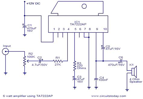 12v car subwoofer lifier circuit diagram wiring diagram