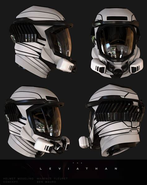 helmet design book the leviathan teaser trailer and concept art concept