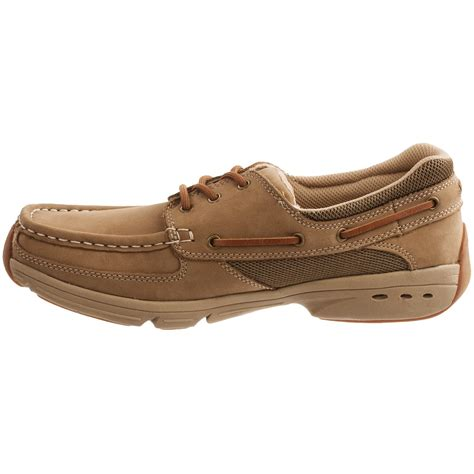 rugged shark shoes rugged shark hatteras boat shoes for 8611f save 56
