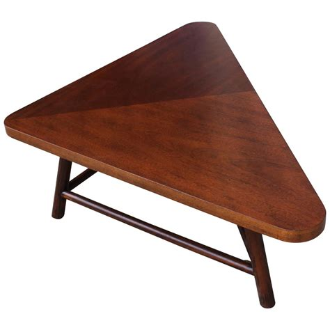 Triangular Coffee Table Robsjohn Gibbings Triangular Coffee Table At 1stdibs