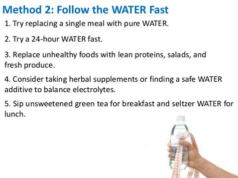 Water Fasting Detox Benefits by Benefits Of Water