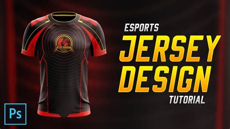 jersey design tutorial esports jersey design tutorial in photoshop cc 2018 youtube