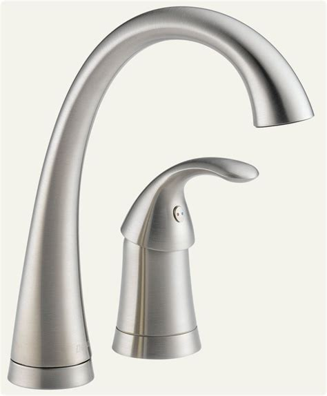 delta 1980 ss dst pilar single handle bar prep faucet